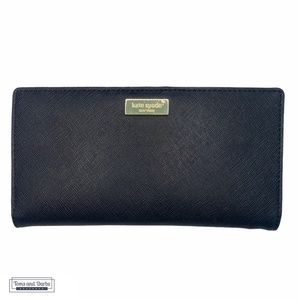 Kate Spade Black Spencer Bi-Fold Women's Wallet